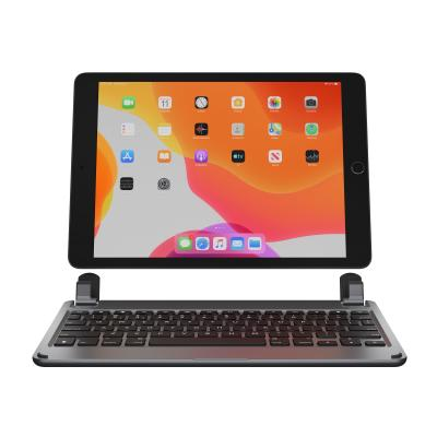 Brydge 10.2 - keyboard - QWERTY - English - space gray inch iPad Pro