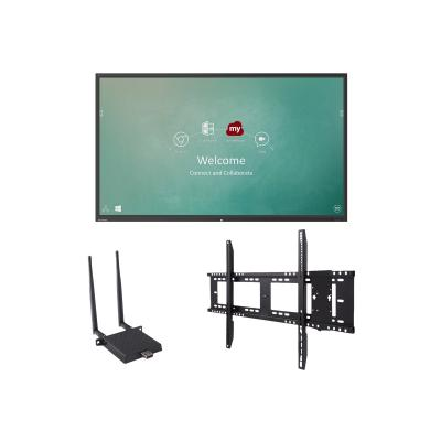 "ViewSonic ViewBoard IFP9850 Bundle 1 98"" Class (97.5"" viewable) LED display - 4K FI-001 and WMK-047-2"