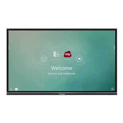 "ViewSonic ViewBoard IFP7550-M1 Interactive Flat Panel MDM Bundle 1 75"" Class (74.5"" viewable) LED display - 4K I-001 BDL"