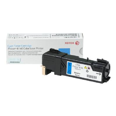 Xerox Phaser 6140 - cyan - original - toner cartridge Pages - Phaser 6140