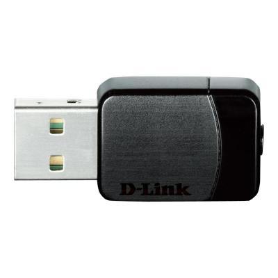D-Link Wireless AC DWA-171 - network adapter - USB 2.0 ADPT