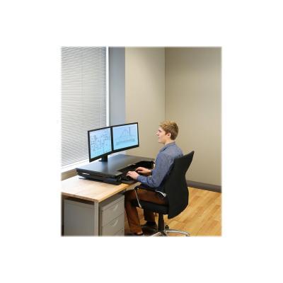 Ergotron WorkFit-TL - adaptateur en bureau debout  emplacement  ( noir ) ce)