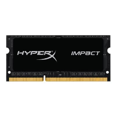 HyperX Impact Black Series - DDR3L - 8 GB - SO-DIMM 204-pin Hz  CL9  1.35V  204-pin SODIMM