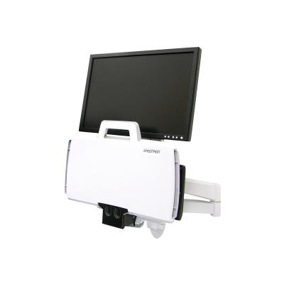 Ergotron 200 Series Combo Arm - mounting kit - for LCD display / keyboard / mouse / barcode scanner  Easily position flat panel mo nitor and keyboard f