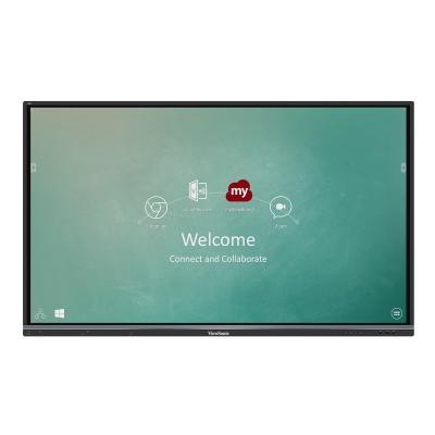 "ViewSonic ViewBoard IFP6550-M1 Interactive Flat Panel MDM Bundle 1 65"" Class (65"" viewable) LED display - 4K MNT"