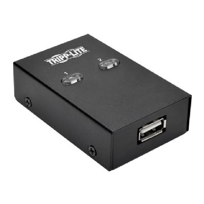Tripp Lite 2-Port USB Hi-Speed Sharing Switch for Printer/ Scanner /Other - USB peripheral sharing switch - 2 ports WITCH FOR PRINTER/ S