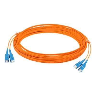 AddOn 10m SC OM1 Orange Patch Cable - patch cable - 10 m  CABL