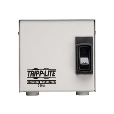 Tripp Lite 250W Isolation Transformer Hospital Medical with Surge 120V 2 Outlet HG TAA GSA - transformer - 250 Watt 0601-1 Medical-Grade Isolation  Transformer with 2