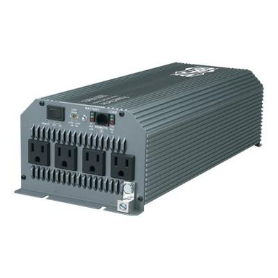 Tripp Lite Compact Inverter 1800W 12V DC to 120V AC 4 Outlets 5-15R - DC to AC power inverter - 1800 Watt ruck Inverter with 4 Outlets Outlet
