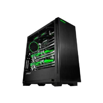 Antec Performance P110 Luce - tower - ATX/MicroATX with tempered glass and RGB LE D