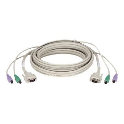 Black Box keyboard / video / mouse (KVM) cable - 1.5 m ® 5-ft. 1.5-m
