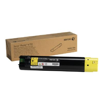 Xerox Phaser 6700 - High Capacity - yellow - original - toner cartridge tridge (12 000 pages) Phaser 6 700