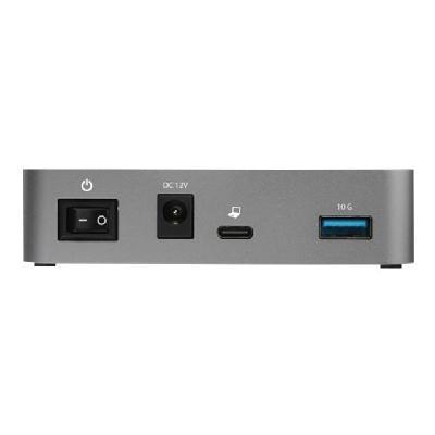 StarTech.com 4-Port USB C Hub - USB 3.1 Gen 2 (10Gbps) to 4x USB A - Powered - Universal Power Adapter Included (HB31C4AS) - hub - 4 ports (Japan, New Zealand, North America, United Kingdom, Europe) USB-A-POWERED