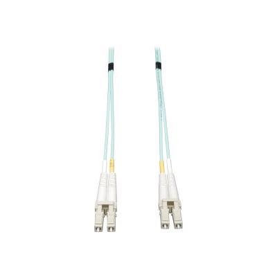 Tripp Lite 12M 10Gb Duplex Multimode 50/125 OM3 LSZH Fiber Cable LC/LC 12 Meters - patch cable - 12 m - aqua blue M3 LSZH Fiber Patch Cable (LC/ LC) - Aqua  12M (39-