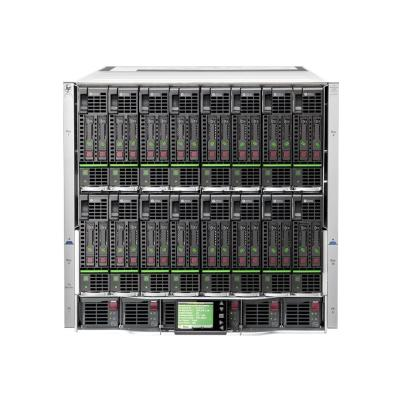 HPE BLc7000 Enclosure - rack-mountable - up to 16 blades  BLAD