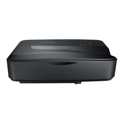 Optoma ZH420UST - DLP projector - ultra short-throw - 3D 000 ANSI lumen - 1920 x 1080 -  1.07 Billion Colors