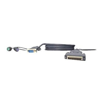 Belkin OmniView Dual Port Cable, PS/2 - keyboard / video / mouse (KVM) cable - 1.8 m - B2B  CABL