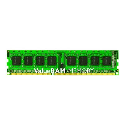 Kingston ValueRAM - DDR3 - 4 GB - DIMM 240-pin - unbuffered n-ECC  Unbuffered  CL11  1.5V  240-pin DIMM  Singl