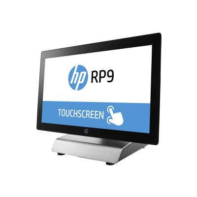 """HP RP9 G1 Retail System 9018 - all-in-one - Core i3 6100 3.7 GHz - 8 GB - 128 GB - LED 18.5"""" (Language: French / region: Canada) O STND FR"""