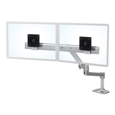 Ergotron LX Desk Dual Direct Arm - mounting kit ed Aluminum