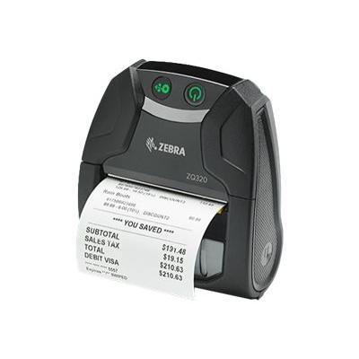 Zebra ZQ300 Series ZQ320 Mobile Receipt Printer - receipt printer - B/W - direct thermal  PRNT