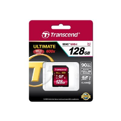 Transcend Ultimate series - flash memory card - 128 GB - SDXC UHS-I (128GB)