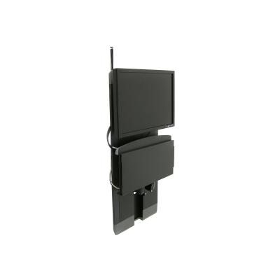 Ergotron StyleView Vertical Lift High Traffic Areas - mounting kit - for LCD display / keyboard / mouse (low profile)