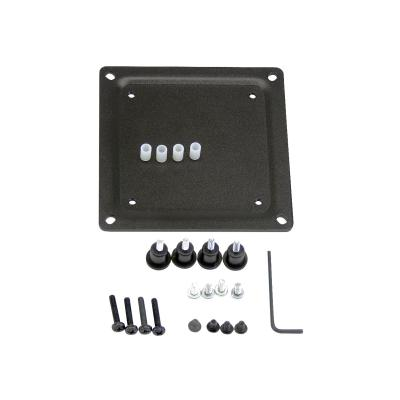 Ergotron - mounting component  Black - 75mm to 100mm