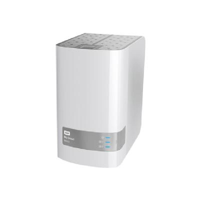 WD My Cloud Mirror Gen 2 WDBWVZ0060JWT - personal cloud storage device - 6 TB (Americas)  WRLS