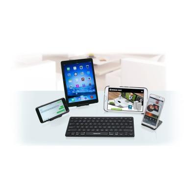 IOGEAR Slim Multi-Link GKB632B - keyboard - with IOGEAR Charge & Sync Flip Pro GAMU01  USB CABLE