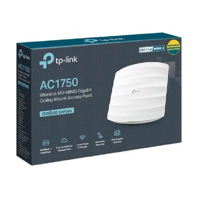 TP-Link Omada EAP245 - v3 - wireless access point t Ceiling Mount Access Point 2.4GHz: 450Mbps  5GH