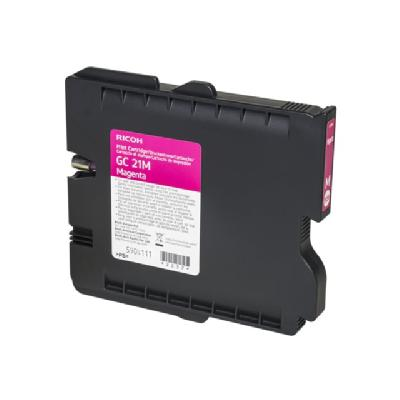 Ricoh GC 21M - magenta - original - ink cartridge E RICOH AFICIO GX3000 GX3050N GX5050N GC21M AVG YI