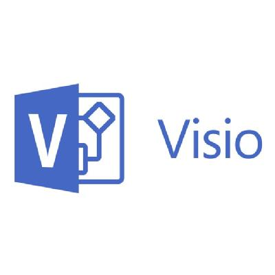 Microsoft Visio Standard 2016 - license - 1 PC  SVCS