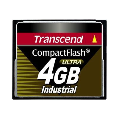 Transcend Ultra Speed Industrial - flash memory card - 4 GB - CompactFlash   BULK 00x