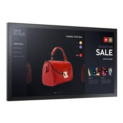 "Samsung PM32F-BC PMF-BC Series - 32"" LED display - Full HD tive Touch  Non-glare  IP5x ra ted  Centre IR  24/7"