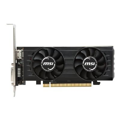 MSI RX 550 4GT LP OC - graphics card - Radeon RX 550 - 4 GB B GDDR5