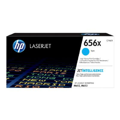 HP 656X - High Yield - cyan - original - LaserJet - toner cartridge (CF461X) ONER CART