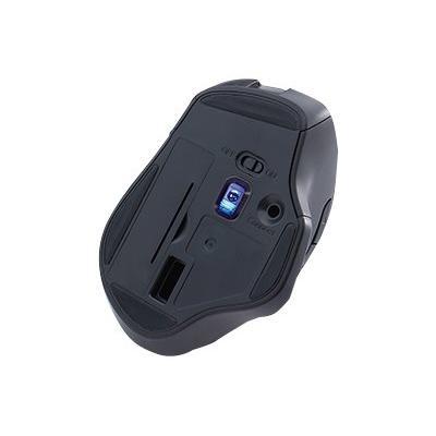 Verbatim Silent Ergonomic Wireless Blue LED Mouse - mouse - 2.4 GHz - red  WRLS