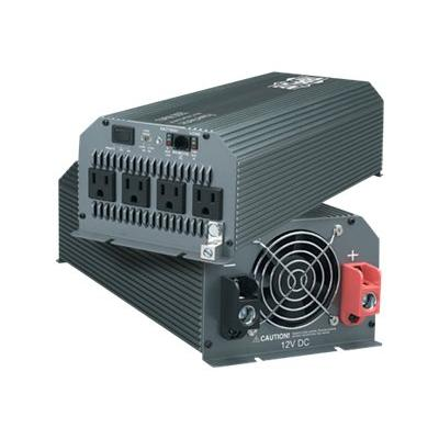 Tripp Lite Compact Inverter 1000W 12V DC to 120V AC 4 Outlets 5-15R - DC to AC power inverter - 1 kW  PERP