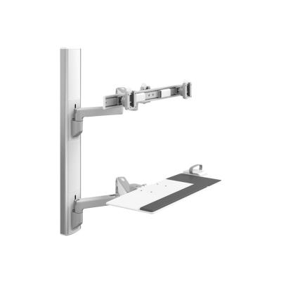 Humanscale V6 Wall Station - mounting kit ck  One 9in Straight Link/12in  Dynamic Link Arm wi