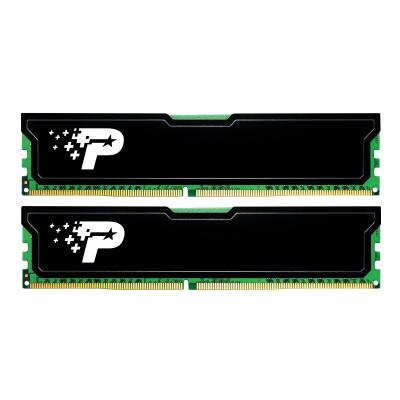 Patriot Signature Line - DDR4 - 8 GB: 2 x 4 GB - DIMM 288-pin - unbuffered x 4GB) PC4-19200 (2400MHz) CL1 7 DIMM Kit