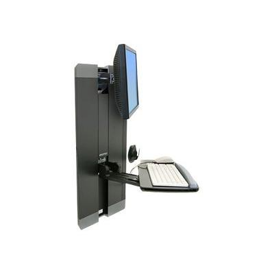 Ergotron StyleView Vertical Lift, Patient Room - mounting kit - for LCD display / keyboard / mouse