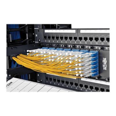 Tripp Lite 2M Duplex SMF 9/125 Uniboot Fiber Optic Patch Cable LC/LC 6' - patch cable - 2 m - yellow  CABL