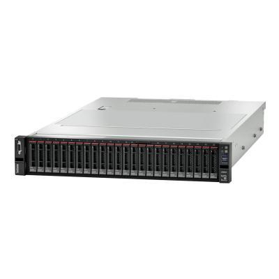 Lenovo ThinkSystem SR655 - rack-mountable - EPYC 7702P 2 GHz - 32 GB - no HDD (Region: North America)  SYST
