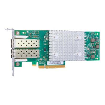 HPE StoreFabric SN1600Q 32Gb Dual Port - host bus adapter - PCIe 3.0 x8 - 32Gb Fibre Channel x 2  CTLR