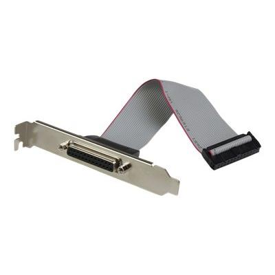 StarTech.com 2 Port PCI Express / PCI-e Parallel Adapter Card - IEEE 1284 with LP Bracket - 2x DB25 (F) PCIE Parallel Port Card (PEX2PECP2) - parallel adapter - PCIe - IEEE 1284 x 2 EL ADAPTER