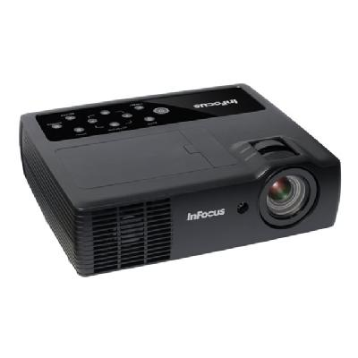 InFocus IN1118HDLC DLP projector - 3D - with InFocus LightCast USB adapter e LightCast Projector