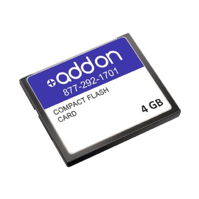 AddOn - flash memory card - 4 GB - CompactFlash 4G-S Compatible 4GB Flash Upgr ade