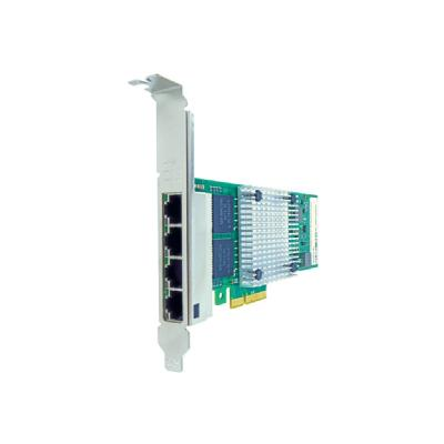 Axiom - network adapter - PCIe 2.1 x4 - Gigabit Ethernet x 4  RJ45 PCIe x4 NIC Card for Int el - EXPI9404PTL