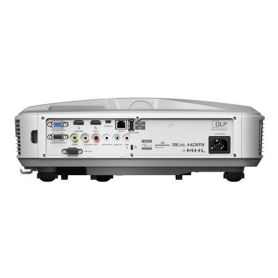 Optoma ZH500UST - DLP projector - ultra short-throw - 3D 920 x 1080 - 1.07 Billion Colo rs - 100 000:1 - 16: